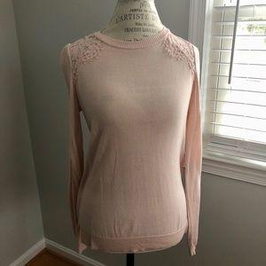 Pink Lace Shirt